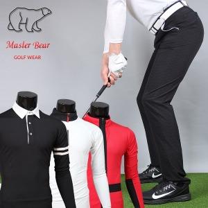 마스터베어/봄 남성 골프바지/남자 골프웨어/면바지