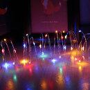 Wire LED장식조명5m 4색컬러/8모드/전지포함/와이어등
