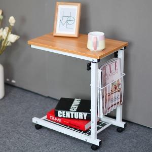 YLB예림방 디엔나 높이조절 이동식 사이드 테이블