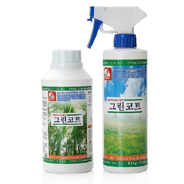 광촉매 그린코트500ml/새집증후군제거/공기정화/냄새