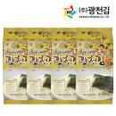 달인 김병만의 광천김 재래도시락김 27봉