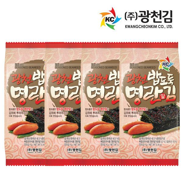 광천 밥도둑 명란알김 도시락김 36봉