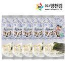 달인 김병만의 광천김 파래도시락김 72봉