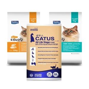 캣투스 20kg/테비랑 20kg/고양이사료/대용량사료