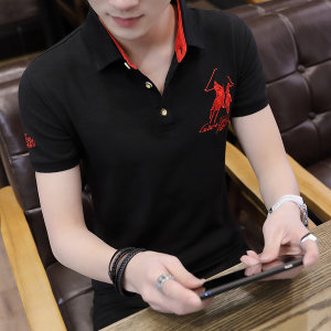 남자 폴로 카라 반팔 티셔츠 기본 여름 빅사이즈wf46