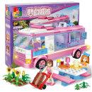 DreamCity 캠핑카 322p세트 (c0211)/레고 호환블럭