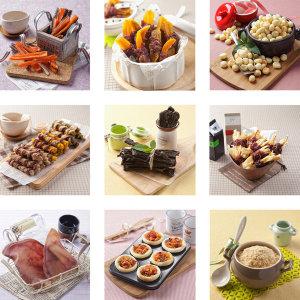힐링펫 강아지수제간식 맛보기세트상품 수제간식(12p)