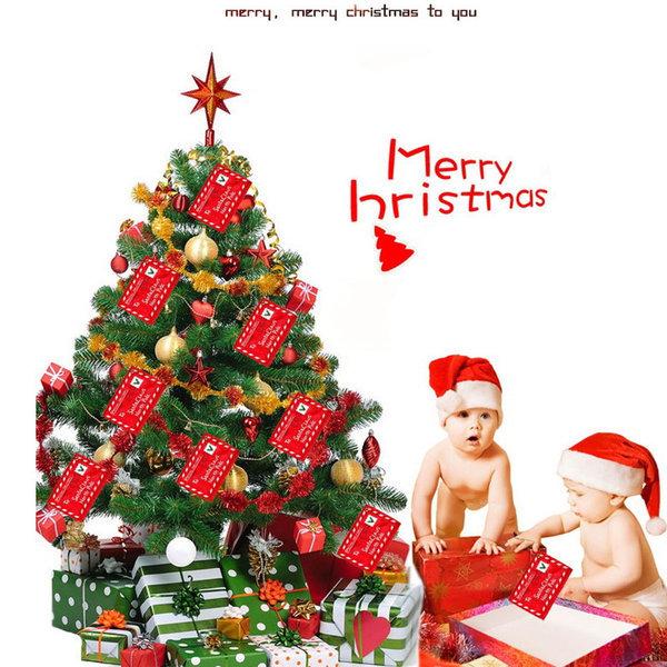 크리스마스 선물용 카드 장식 트리장식 편지케이스