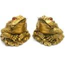 더블 삼족두꺼비 한쌍 세발두꺼비 황금두꺼비 삼족섬