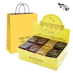 큐빅 영양갱(40gx24입)+쇼핑백 행사중