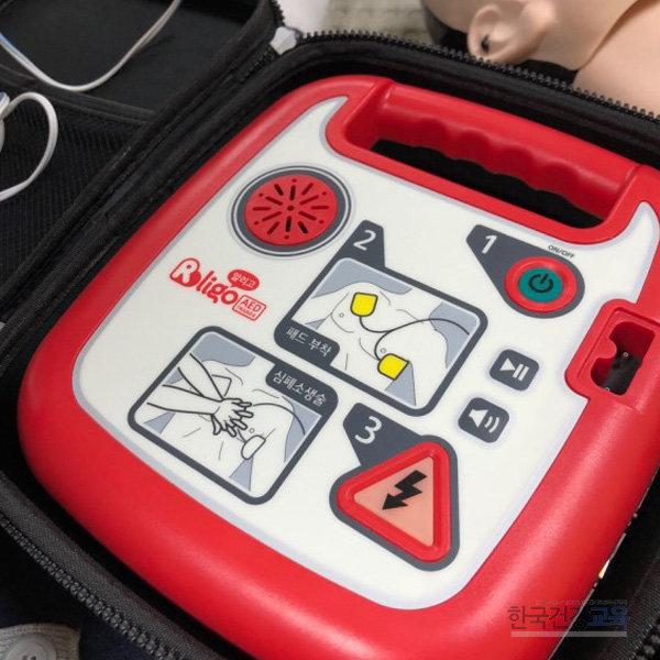 교육용 제세동기 AED 심장충격기 알리고 T200 훈련용