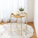 사이드테이블 라이트옐로우 / 거실 침대 보조테이블