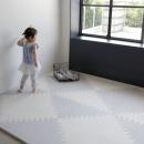 퍼즐매트 그레이 50x50cm 삼각16장/ 두께2cm 유아매트