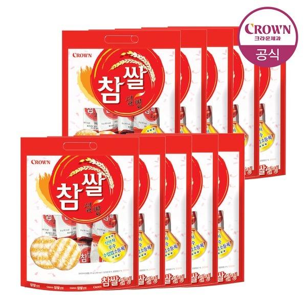 참쌀 설병 270g(30봉) 10팩