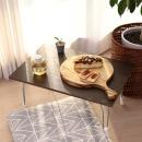 접이식 테이블 소형 월넛 / 좌식 노트북 공부상