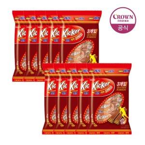 키커 초콜릿 3입 51g 10봉