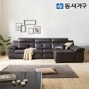 뮤론 이태리 천연가 USB 4인 소파+팔걸이스툴 DF640146