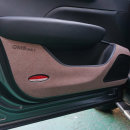 바이블오토 QM6 도어커버 브라운 프리미엄 믹싱펠트