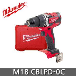 밀워키 M18 CBLPD-0C 18V 콤팩트 충전해머 드릴드라이