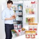 냉장고(냉동실)문짝정리수납용기 대박세트1호