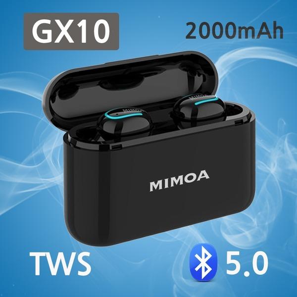미모아 TWS 블루투스무선이어폰 GX10 대용량2000mAh