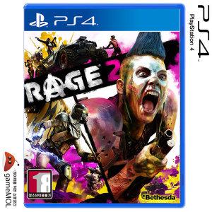 PS4 레이지 2 / RAGE 2 한글 초회판 / 콘텐츠3종포함