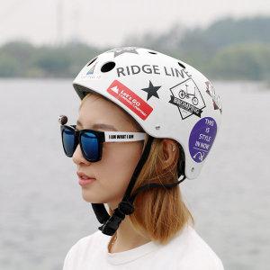 클래식 자전거헬멧 보드 인라인 어반 성인 헬맷 FREE