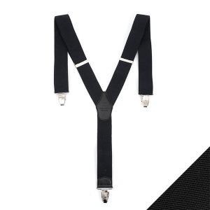 파파브로 남성 캐주얼 멜빵 정장 신사 서스펜더 BT-M-01-블랙