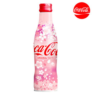 코카콜라 한정판 벚꽃 콜라 알보틀 250ml 12개