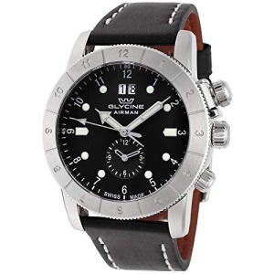 Glycine Mens Airman 42 GMT 42mm Quartz
