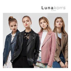 LUNAKORRS 이태리 워시드 라이더자켓