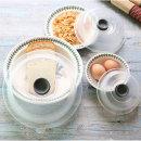 전자레인지용 순식물성 음식덮개 푸드커버 3종 그레이
