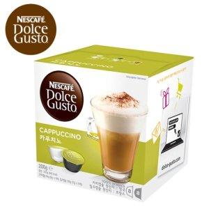 네스카페)돌체구스토 커피캡슐(커피캡슐8.우유캡슐8)