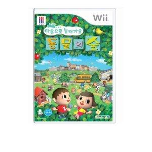 (새상품) 닌텐도 위 타운으로 놀러와요 동물의 숲
