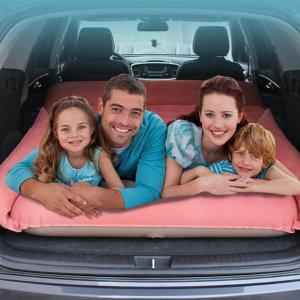 SUV 자동차 뒷좌석 방수 에어 매트리스 캠핑 물놀이