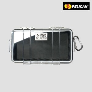 펠리칸케이스 1060 (클리어블랙  뚜껑투명)