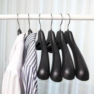남성여성 플라스틱 옷걸이 정장 코트 바지걸이 매장용