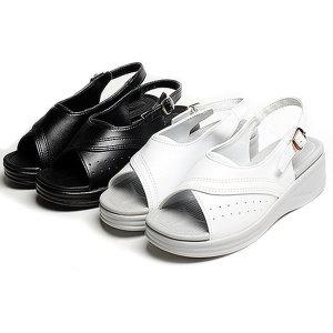 국내생산 이중쿠션 간호화/간호사 신발/슬리퍼 샌들
