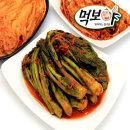 국산)전라도여수갓김치1kg전통식품인증HACCP 100%국산