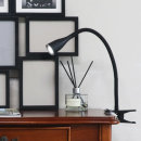 닐라 클립 LED 북라이트 스탠드 블랙 집게등 독서등