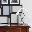 닐라 클립 LED 북라이트 스탠드 화이트 집게등 독서등