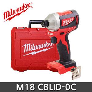 밀워키 M18 CBLID-0C 콤팩트 브러쉬리스 임팩트 드라이버 베어툴