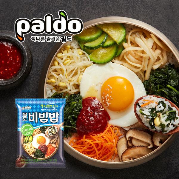 팔도 비빔밥 산채나물 484g(2인분) x 2개 (총 4인분)