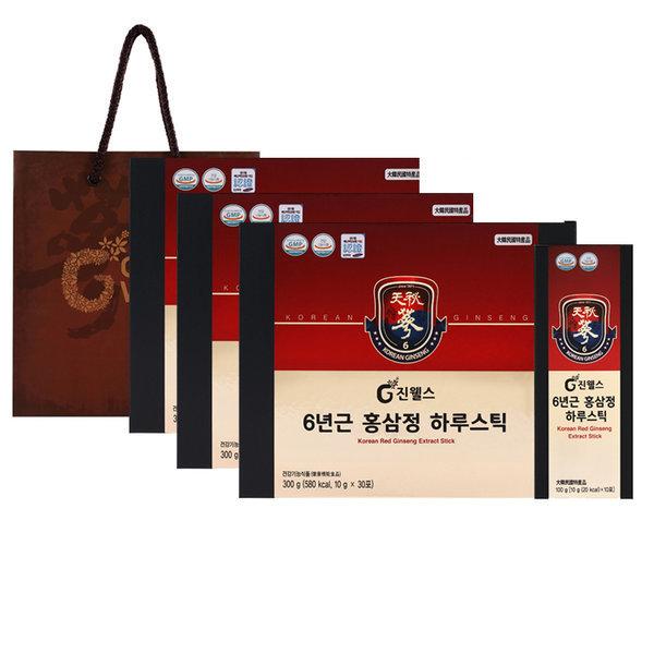 2+1 6년근 홍삼정 하루스틱10g 30포(3개월분)