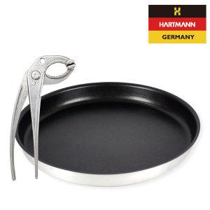 독일 하트만 캠핑팬 다용도집게 세트 캠핑팬+집게