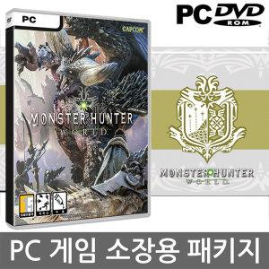PC 몬스터헌터 월드 -(소장용 패키지 DVD 공케이스)