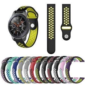 (UNIQBLE) 갤럭시워치 기어S2 S3 S4 스포츠 방수 실리콘 루프 밴드 시계줄 20mm 22mm
