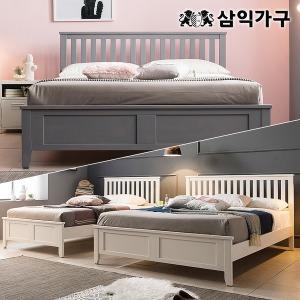오슬로 프리미엄 원목 슈퍼싱글/퀸 침대