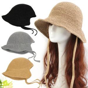 9921-AK와이어보넷 여름 바캉스 나들이 여성 모자
