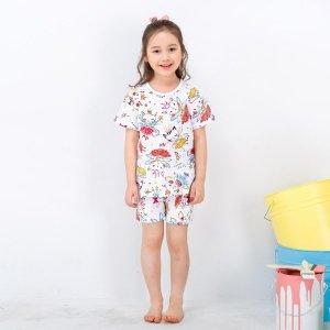 페어리캣 내복 (핑크) 유아동 90호-140호 여름내의